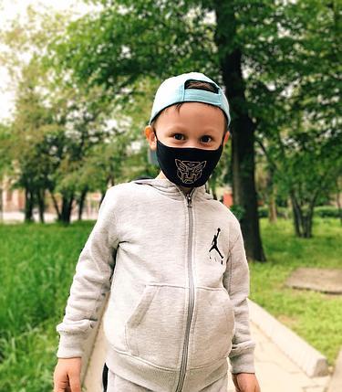 Детские лицевые защитные маски с рисунком в Алматы, фото 2