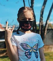 Детские лицевые защитные маски с рисунком в Алматы, фото 3
