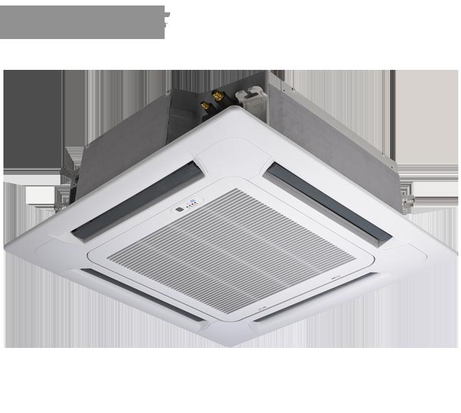 Кассетный кондиционер Gree: GUD50T/A1-K/GU50W/A1-K (без соединительной инсталляции)