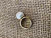 Кольцо с жемчугом майорка -19 размер, фото 4