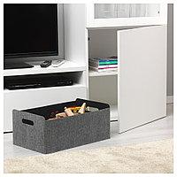БЕСТО Коробка, серый, 32x51x21 см, фото 1