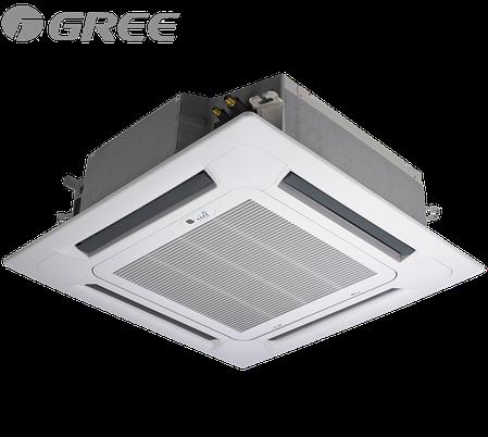 Кассетный кондиционер Gree GU125T/A1-K/GU125W/A1-M (без соединительной инсталляции), фото 2