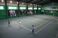 Строительство крытых теннисных кортов (26м х 14м = 364 м2)