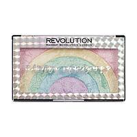 Палетка хайлайтеров Makeup Revolution Rainbow Highlighter