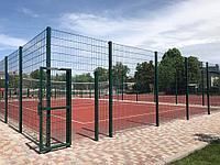 Строительство баскетбольных площадок (Баскетбольное поле открытое с ограждением (28м х 15м = 420 м2))