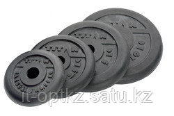 Диски профессиональные обрезиненные d=51 мм (25кг)