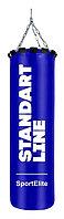 Мешок боксерский SportElite STANDART LINE 120см, d-34, 45кг, синий