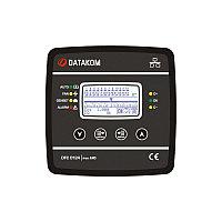 Контроллер компенсации реактивной мощности Datakom DFC-0124 128x64 ч/б дисплей (12 шагов+RS-485+SVC) 144x144 мм