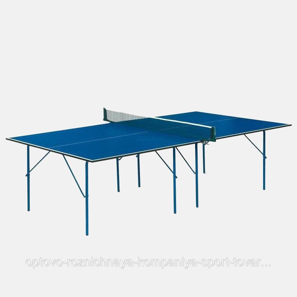 Стол теннисный Start line Hobby-2 с сеткой