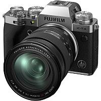 Цифровой фотоаппарат Fujifilm X-T4 kit (16-80mm f/4 R OIS WR) Silver