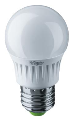 Лампа NLL-G45-7-230-6,5K-E27 61 245 Navigator