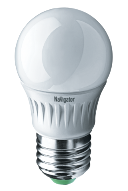Лампа NLL-P-G45-5-230-6,5K-E27 61 253 Navigator