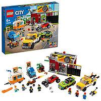 LEGO City 60258 Конструктор ЛЕГО Город Turbo Wheels Тюнинг-мастерская