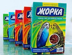 Корм для попугаев Жорка 500гр (фрукты , орех , минералы, экстра)