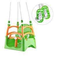 Качели подвесные Doloni 0152/1 зеленый, фото 1