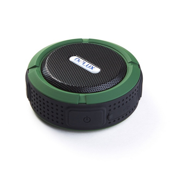 Колонки портативные Delux DLS-Q11BB (Black-Green)