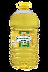 Подсолнечное масло «Подсолнечное» 5 л