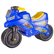 "Каталка детская ""Мотоцикл"", Синий, М6787"