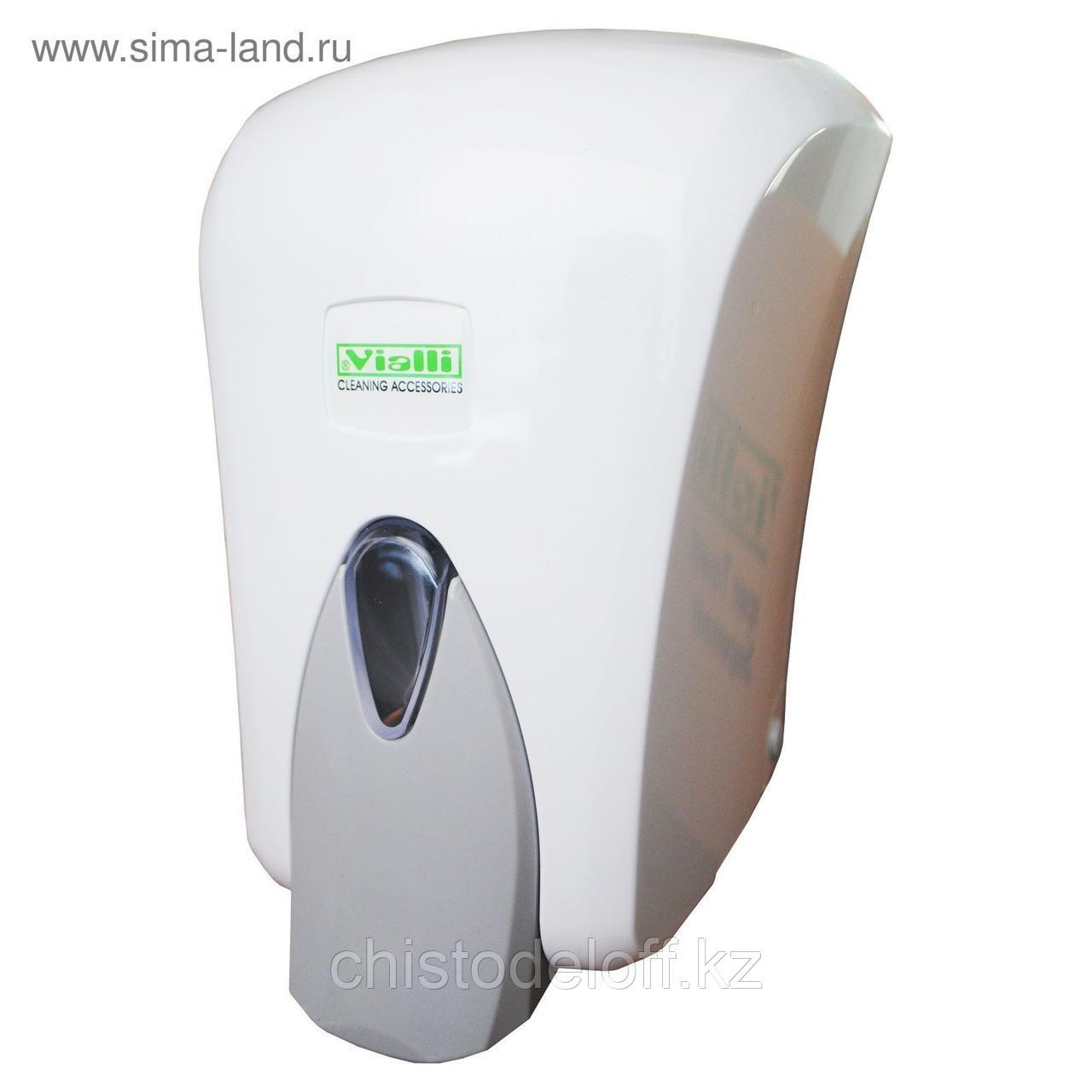 Диспенсер Vialli для жидкого мыла с помпой