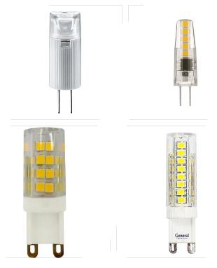 Лампы капсульные