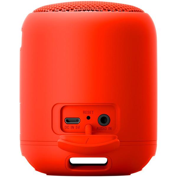 Беспроводная колонка Sony SRSXB12 (Red) - фото 2
