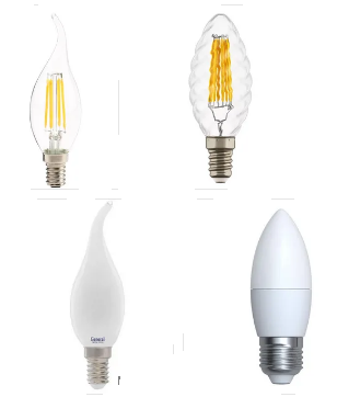 Лампы-свеча