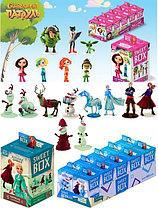 СВИТБОКС для девочек:  Мармелад с игрушкой в коробочке (виды: СКАЗОЧНЫЙ ПАТРУЛЬ, Холодное сердце)
