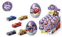Шоколадное яйцо ШОКИ-ТОКИ для мальчиков  (TOBOT робот, DISNEY ТАЧКИ и т.д) /24шт- упак/ 20гр