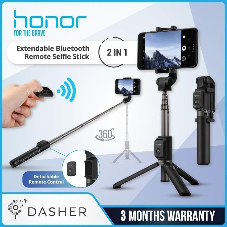 Штатив - Монопод Honor AF15, для телефона, с блютуз пультом.  Оригинал 100%