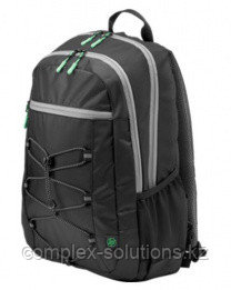 Рюкзак HP Europe Active Backpack [Black/Mint Green] [1LU22AA#ABB]