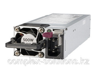 Источник питания HP Enterprise 500W Flex Slot Platinum Hot Plug [865408-B21]