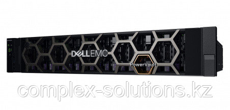 Хранилище DELL ME4024, 2x1.2Tb Жесткий диск HDD, 10Gb SFP+ 8 Port Dual Controller [210-AQIF-10GS]
