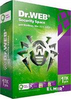 Программное обеспечение Dr.Web Security Space Лицензионный сертификат для 1 ПК на 1 год + 1 месяц в подарок [BHW-BK-12M-1-A3]