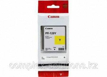 Картридж CANON PFI-120 Yellow [2888C001] | [оригинал]
