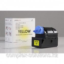 Тонер картридж CANON C-EXV21Y for IR C2380   2880   3080   3580   3880 YELLOW (14K) (11500096) 260 гр INTEGRAL
