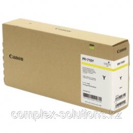 Картридж CANON PFI-710YL [2357C001] | [оригинал]