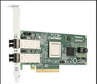 Адаптер главной шины DELL Emulex LPe12002 Dual Channel 8Gb PCIe Host Bus Low Profile [406-10469]