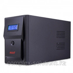 CW 2110 MUST line-interactive UPS 1000VA LCD USB RJ45 battery: 12V7AH*2 SCHUKO output