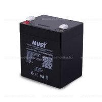 Аккумулятор MUST 12V 4,5Ah Size 90*70*101mm