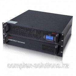 """EH 5113 MUST 19"""" rack on-line UPS 3000VA LCD RS232 RJ45 battery: 12V7AH*8"""