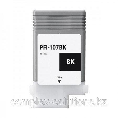 Картридж CANON PFI-107BK Black GRAND | [качественный дубликат]
