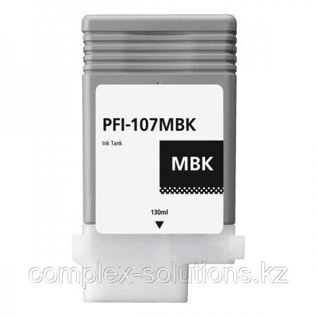 Картридж CANON PFI-107MBK Matte Black GRAND | [качественный дубликат]