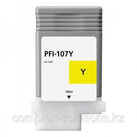 Картридж CANON PFI-107Y Yellow GRAND | [качественный дубликат]
