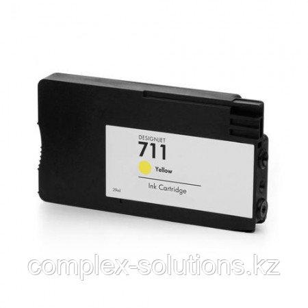 Картридж H-P CZ132A Yellow №711 GRAND   [качественный дубликат]