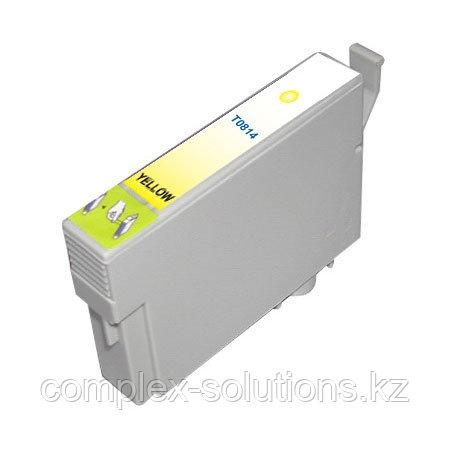 Картридж EPSON T0814 Yellow GRAND   [качественный дубликат]