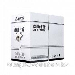 Сетевой кабель UAE-5514 UTP Cat.5e 4x2x1 | 0,51 PE 305 м | б RIPO