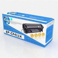 Картридж H-P CF411X (№410X) Cyan Euro Print | [качественный дубликат]