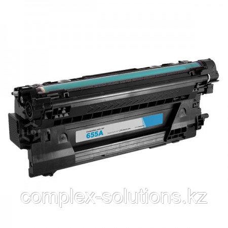 Картридж H-P CF451A (№655A) Cyan (10,5K) Euro Print | [качественный дубликат]