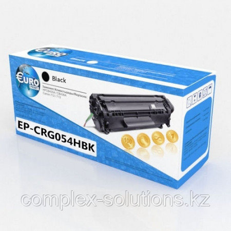 Картридж CANON 054H Black (3,1K) Euro Print | [качественный дубликат]