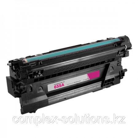 Картридж H-P CF453A (№655A) Magenta (10,5K) Euro Print | [качественный дубликат]